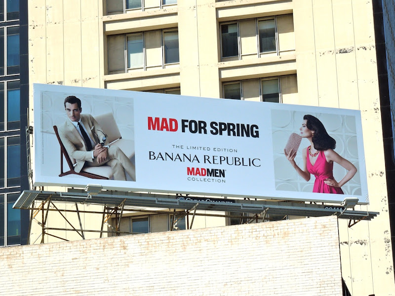 Mad for Spring billboard