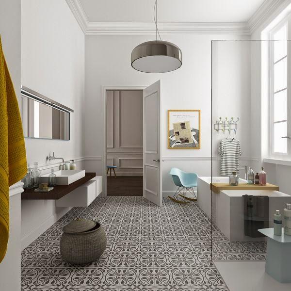 Loulou gatou la salle de bain id ale for Elle deco salle de bain