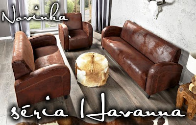 Luxusna sedacka a kreslo, sedacia suprava v hnedej farbe, luxusny nabytok