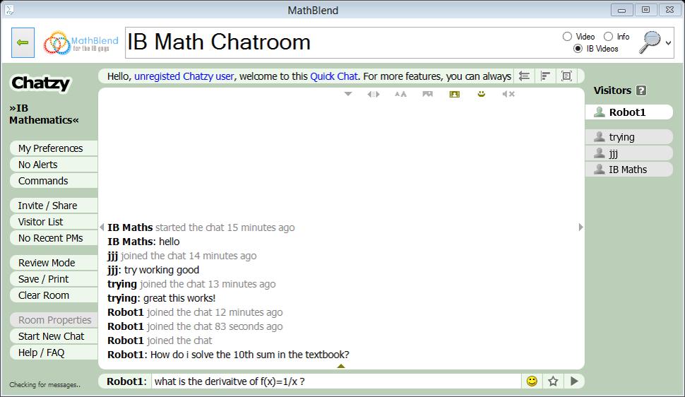 Chat Room Application Mac