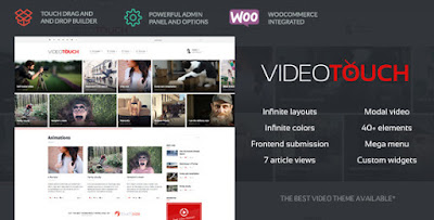 Download VideoTouch v1.4 Video WordPress Theme