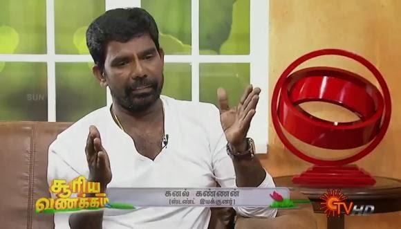 Virundhinar Pakkam – Sun TV Show 06-12-2013  Stunt Master Kanal Kannan