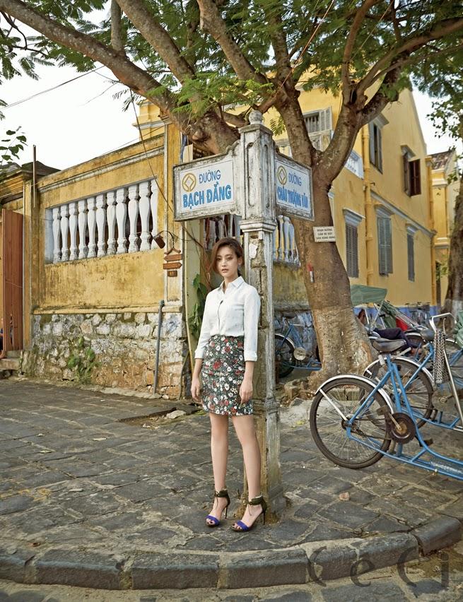 Oh Yeon Seo - Ceci Magazine November Issue 2014