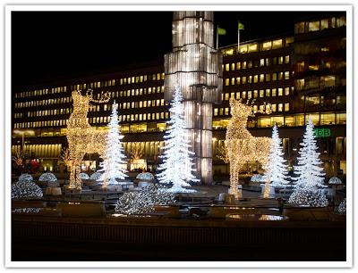 Renar i fontänen