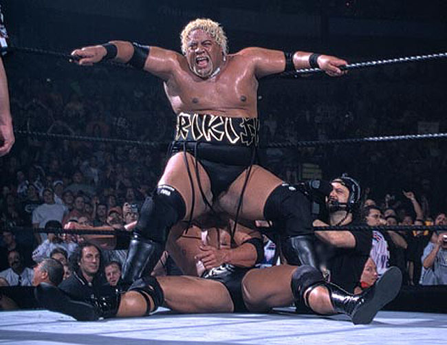 the ring name Rikishi with  Rikishi Stinkface Vince Mcmahon