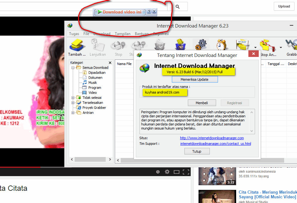 Internet download manager 6.23 Build 6
