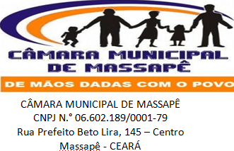 CÂMARA MUNICIPAL DE MASSAPÊ
