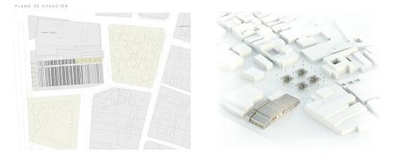 V+M Arquitectos Valencia Mercado La Laguna