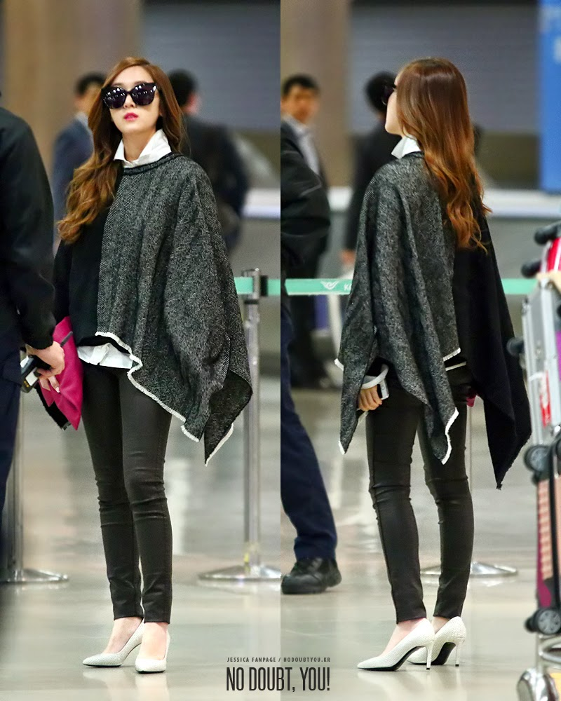 Jessica Jung Airport Style Images Galleries With A Bite