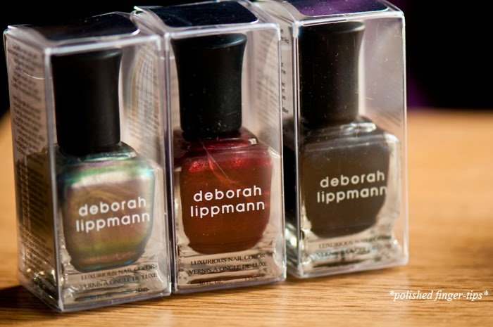 Deborah Lippmann polishes
