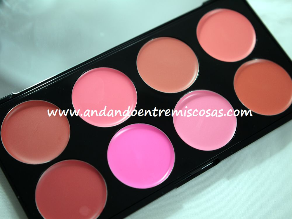 Paleta All About Cream De Makeup Revolution