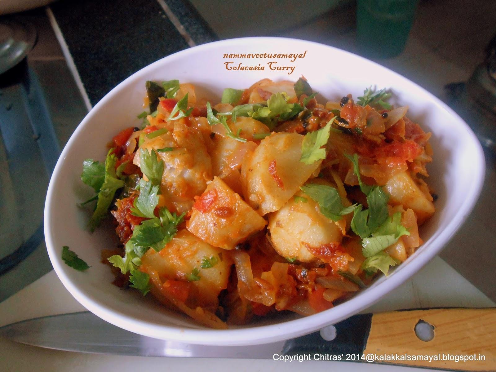 Colacasia Curry