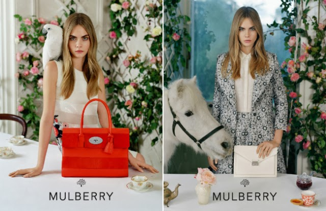 Mulberry Spring-Summer Campaign 2014 By Tim Walker For Women