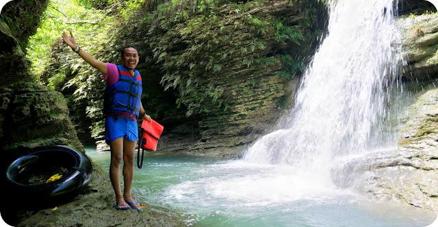 Body+Rafting+River+Tubing+Santirah+Pangandaran+Green+Canyon