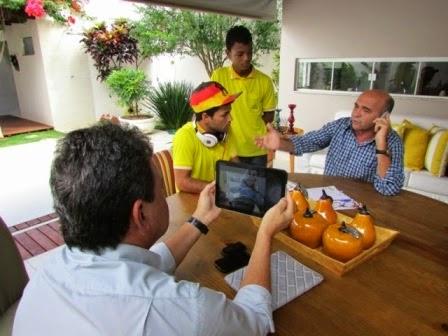 Entrevista com o prefeito de Mairi, Raimundo Dentista