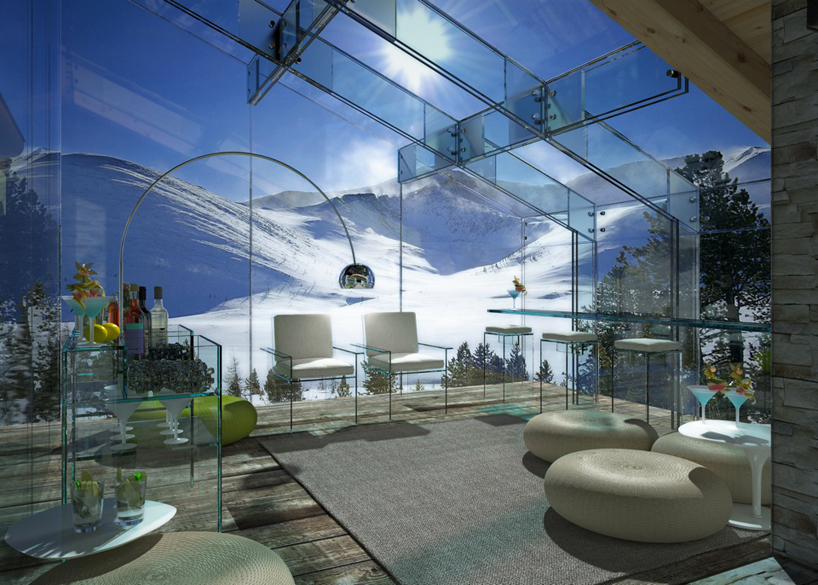Transparent Glass House Concept Most Beautiful Houses In