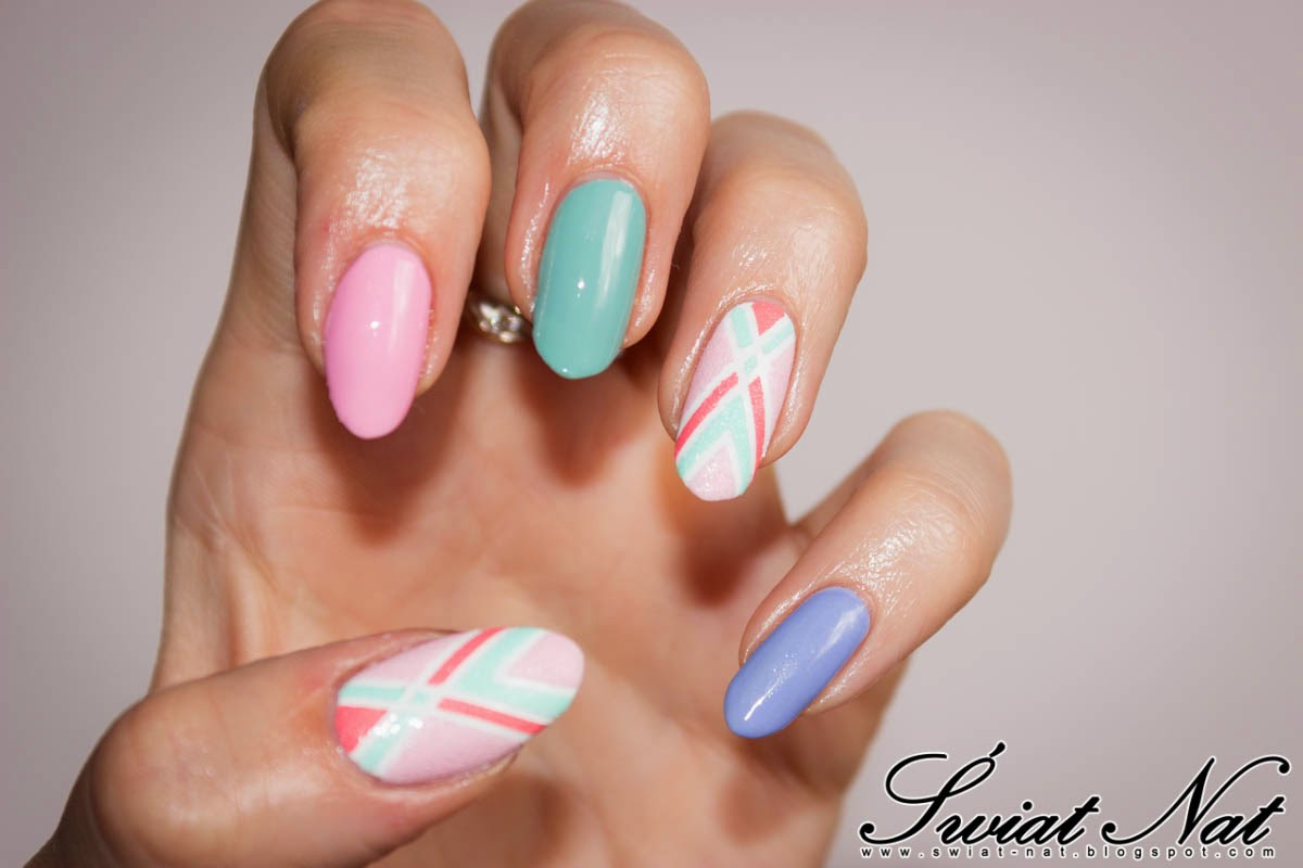 mani manicure nail nails nailart sand piasek color expert wibo candyshop