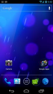 Android Ice Cream Sandwich versi 4.0