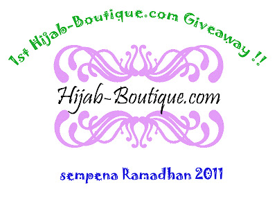 """ 1st Hijab-Boutique.com Giveaway"""