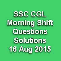CGL Asked Question & Solution Paper Series wise