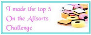 Made it to Top 5 in Allsorts.