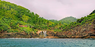 Air Terjun Pantai Jogan, Gunungkidul, Jogja