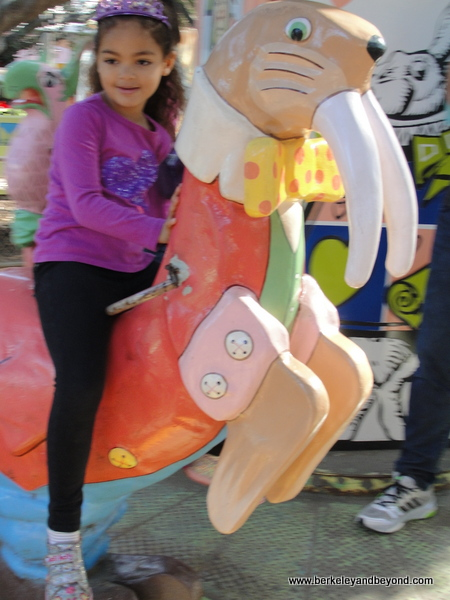 the Wonder-Go Round carousel at Children's Fairyland in Oakland, California