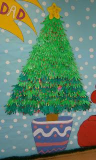 La clase de miren mis experiencias en el aula decoraci n for Decoracion de aula para navidad
