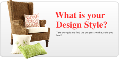 Quiz what 39 s your decorating style how about orange for Home decor quiz style