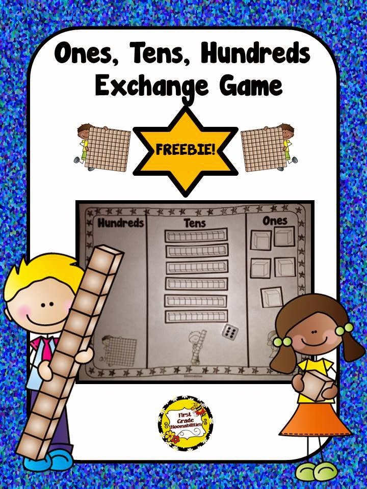 http://www.teacherspayteachers.com/Product/Ones-Tens-Hundreds-Place-Value-Exchange-Game-1645917