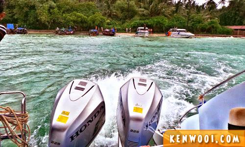 krabi island tour speedboat