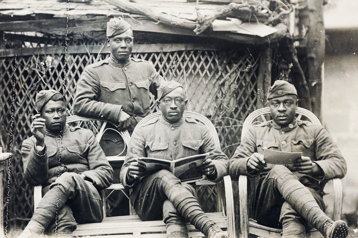 african americans in world war i Though often overshadowed by world war ii, the african-american experience in world war i was a transformative moment in black history, says chad williams, chair of the african & afro-american studies department.