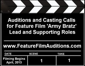Army Bratz Auditions Casting Calls