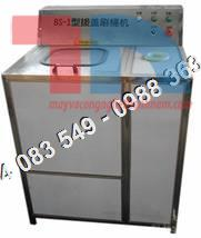 Máy rửa bình nước 20 lít, máy rửa và nhổ nắp bình, máy chiết chai tự động, máy co màng tem nhãn