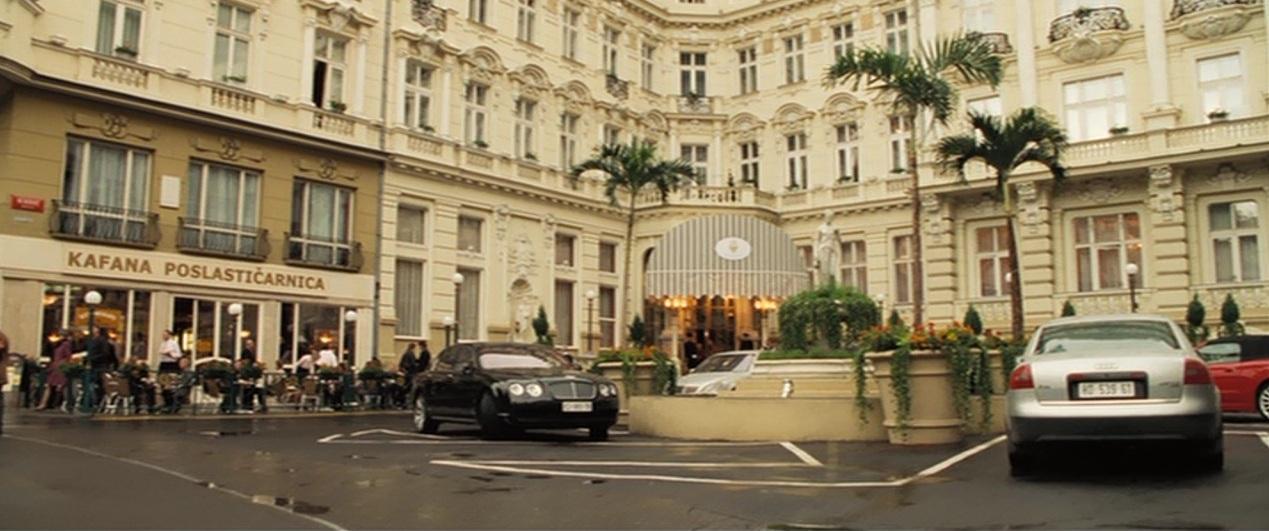 James Bond Locations Hotel Splendide Sir