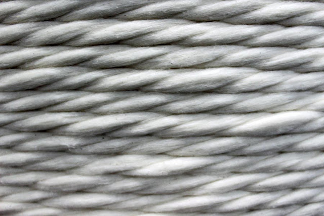cotton yarn up close