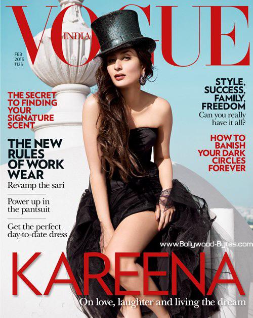 Hot Kareena Kapoor Vogue India February 2013