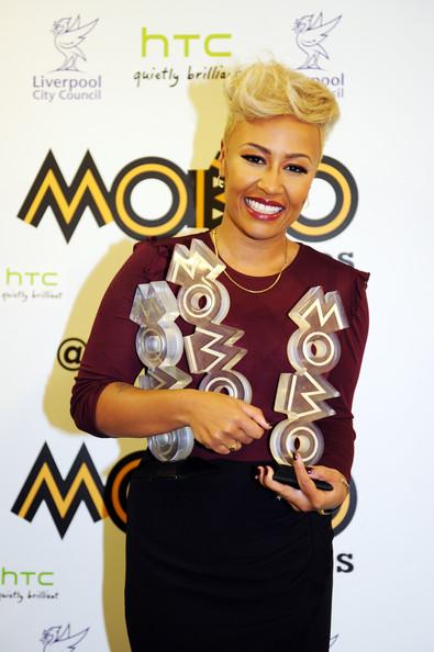 MOBO AWARDS: EMELI SANDE HAT TRICK AWARDS