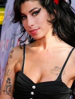 Amy Winehouse Tattoo Design Photo Gallery - Amy Winehouse Tattoo Ideas for Girls