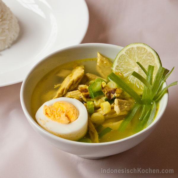 Soto Ayam Indonesisch kochen
