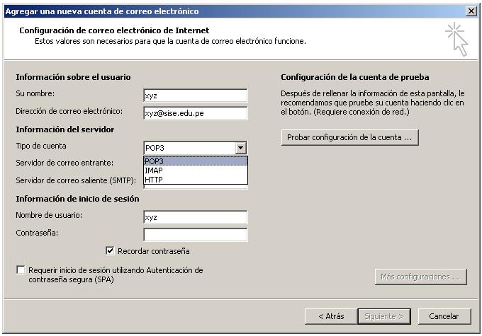 Fundamentos de redes y comunicaciones for Protocolo pop