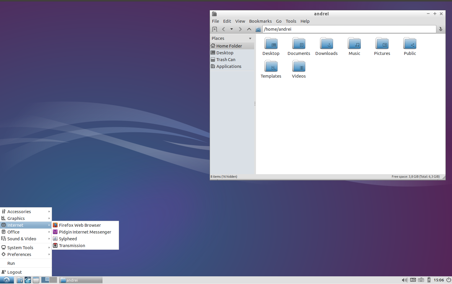 Lubuntu 14.04 LTS desktop