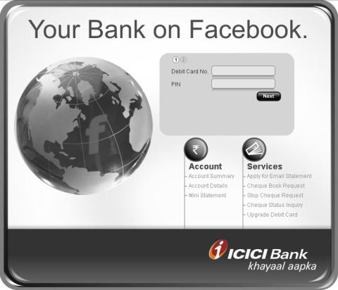 ICICI sur Facebook