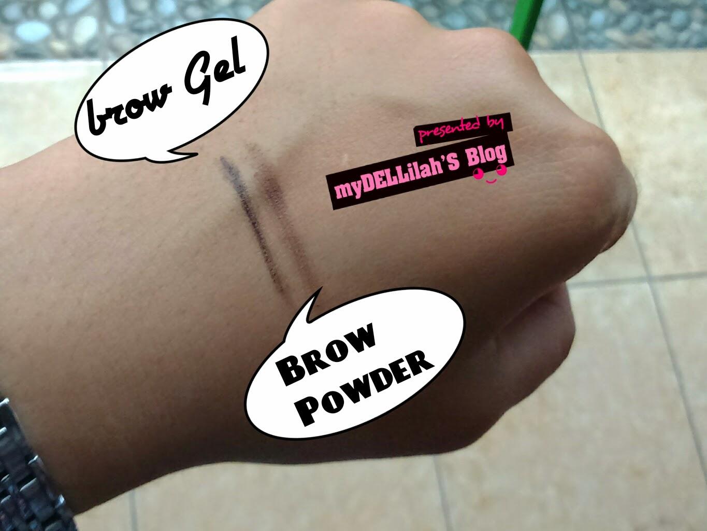 Tekstur ELF Eyebrow Kit - DARK