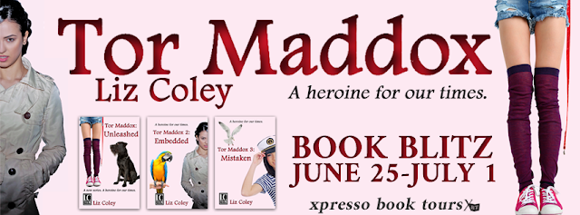Book Blitz: Tor Maddox Series by Liz Coley