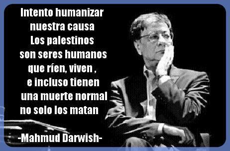 Mahmud Darwish - Los palestinos son seres humanos