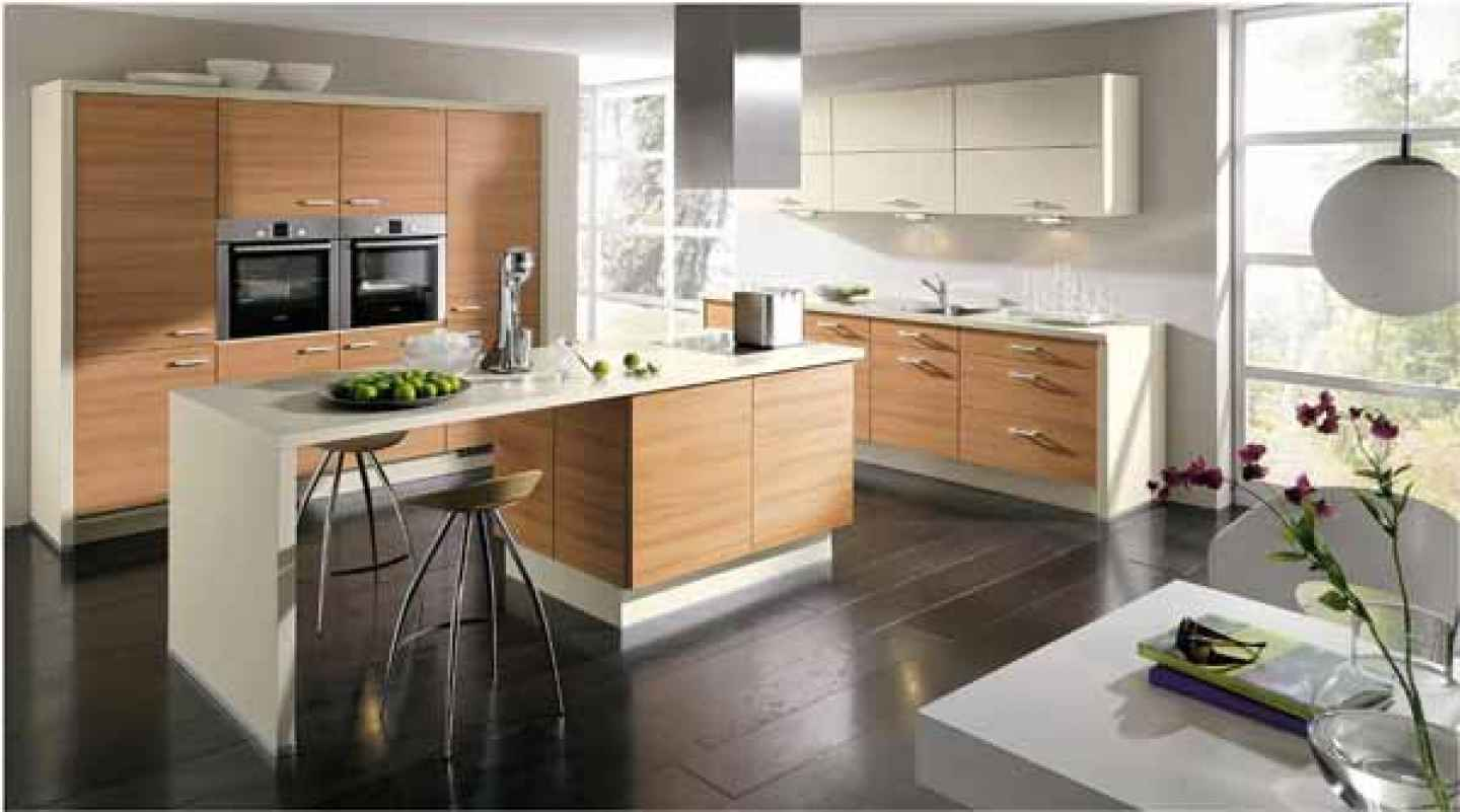 Kitchen design ideas for small kitchens home and garden for Small kitchen cabinets