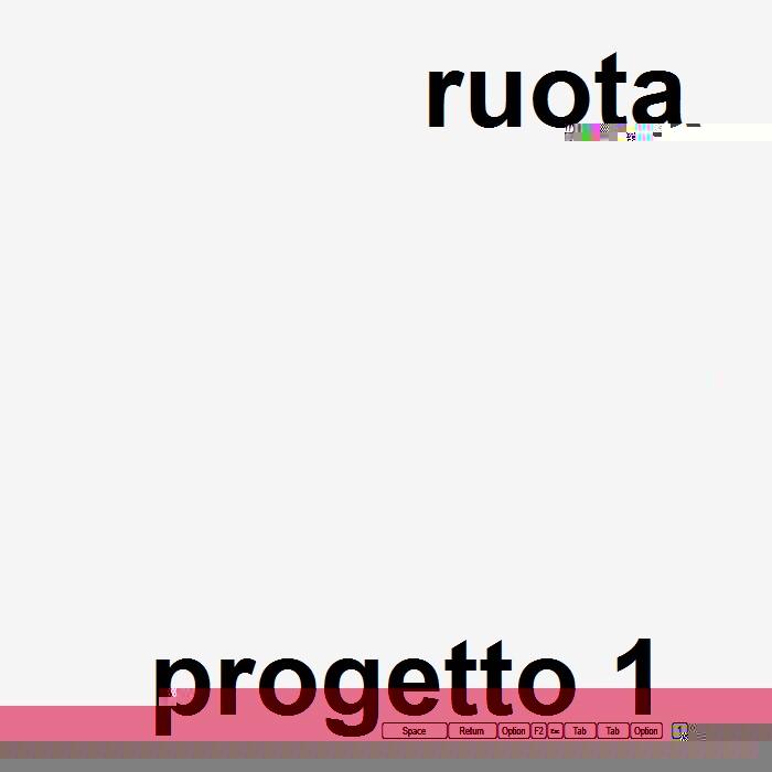 ruota - progetto 1