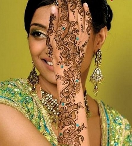 Mehndi Designs For Wedding Girls  Celebrity Tattoos