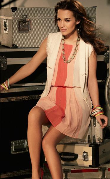 vestidos plisados 2012